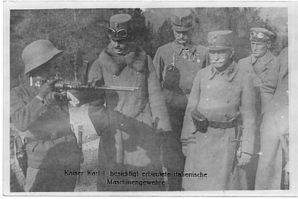 Материал о австро-венгерских пистолетах пулеметах